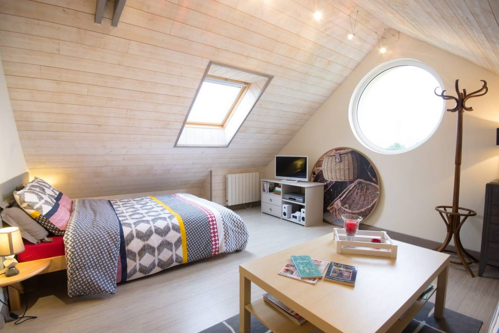studio cosy le hublot situé à Pleubian