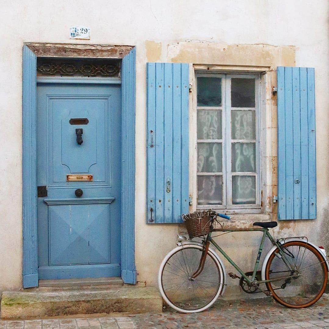 Vélo à l'ile de ré