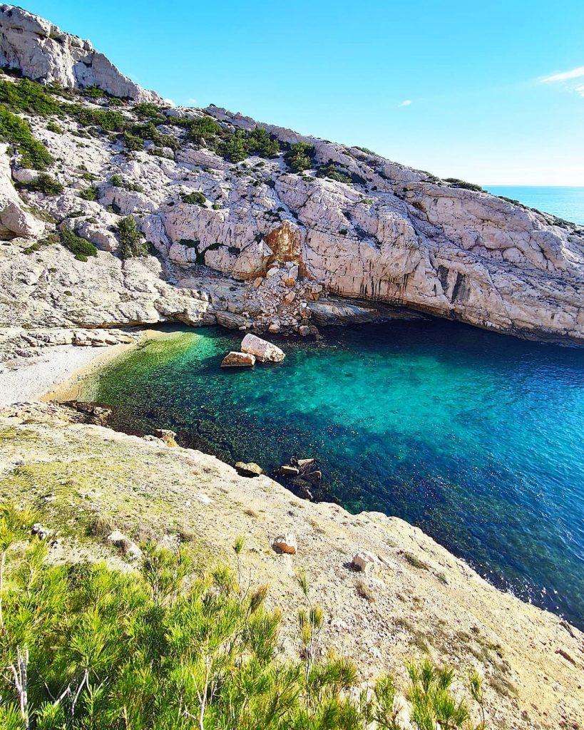 Calanques vers Marseille